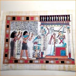 Papiro egipcio 40cmX35cm M19