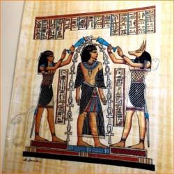 Papiro egipcio 40cmX35cm M22
