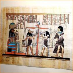 Papiro egipcio 40cmX35cm M23