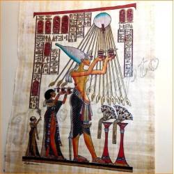 Papiro egipcio 40cmX35cm M24