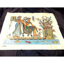 Papiro egipcio 40cmX35cm M26