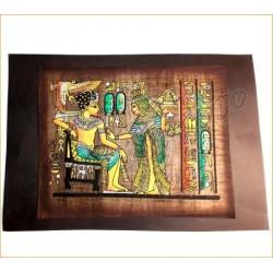 Papiro egipcio oscuro 7