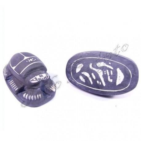 Escarabajo Azul/Blanco M2