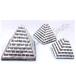 Piramides Cairo Gris