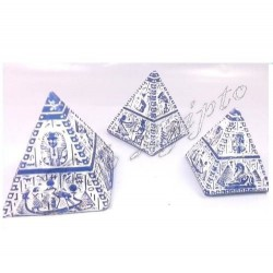 Piramides Luxor Azul