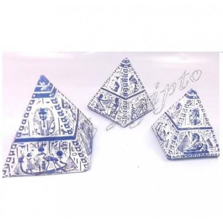 Piramides Luxor Gris