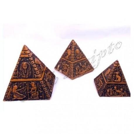 Piramides Luxor Marrón