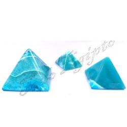 Pirámides Mármol Azul