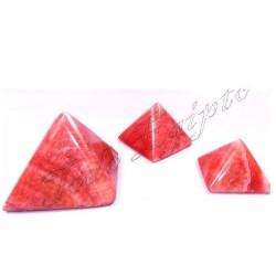 Pirámides Mármol Rojo