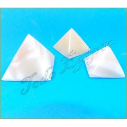Pirámides Mármol Blanco