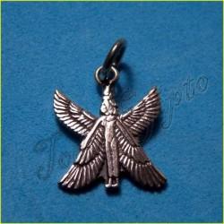 Plata Egipcia Colgante diosa Isis 3