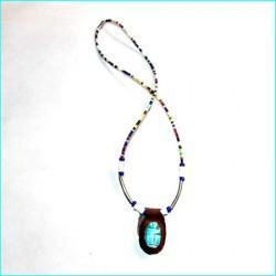 Collar escarabajo egipcio Lux2