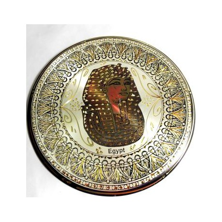 Plato Cobre Grabado 14M17