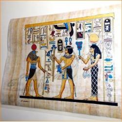 Papiros egipcios 30cmX25cm M30