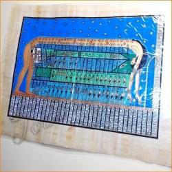 Papiro egipcio 40cmX35cm M4