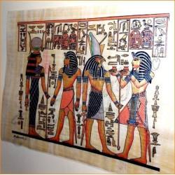 Papiro egipcio 40cmX35cm M7