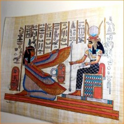 Papiro egipcio 40cmX35cm M12