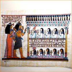 Papiro egipcio 40cmX35cm M14