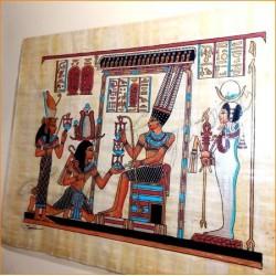 Papiro egipcio 40cmX35cm M16