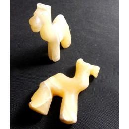Camellos de mármol