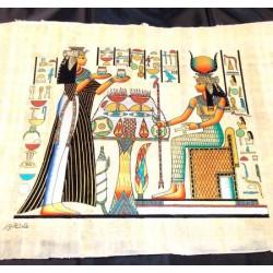 Papiro egipcio 40cmX35cm M27