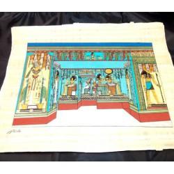 Papiro egipcio 40cmX35cm M28