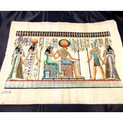 Papiro egipcio 40cmX35cm M30