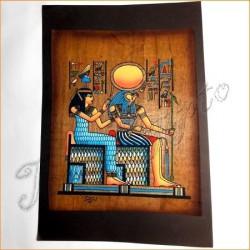 Papiro egipcio oscuro 12