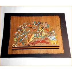 Papiro egipcio envejecido 40cmX35cm Luxor5
