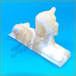 Figura egipcia Esfinge mármol
