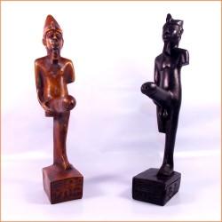 Figuras egipcias Dios Min