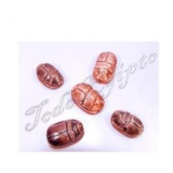 Escarabajo egipcio Marrón M1