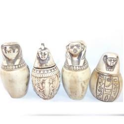 Figuras egipcias Vaso canopo