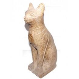 Bastet gato antiguno 34cm