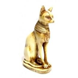 Gato dios Bastet 12cm color claro