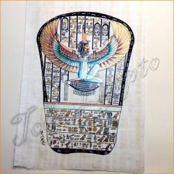 Papiro egipcio 30cmX25cm M1