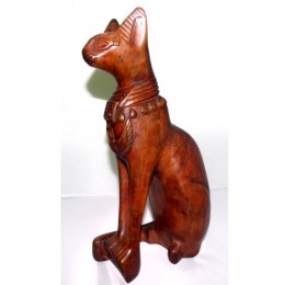 Bastet gato egipcio 20cm Marrón