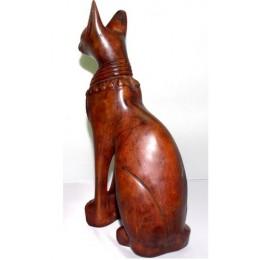 Bastet gato sagrado 25cm Marrón
