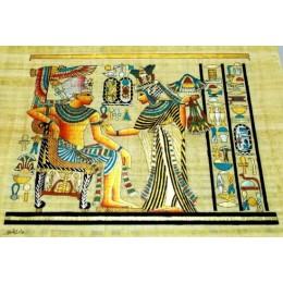 Papiro egipcio 40cmX35cm M37