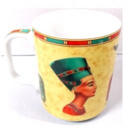 Taza porcelana egipcia Cleopatra
