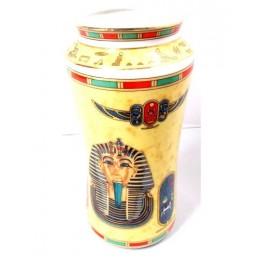 Jarrón de porcelana egipcia Tutankamón