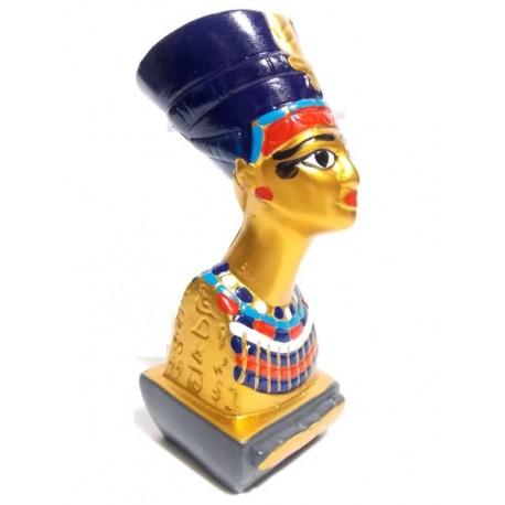 Figura egipcia Cleopatra Color