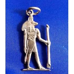 Plata Egipcia Colgante Anubis