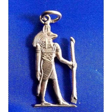 Plata Egipcia Colgante ojo horus