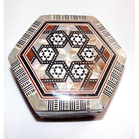 Cajas egipcias Nácar baul M1