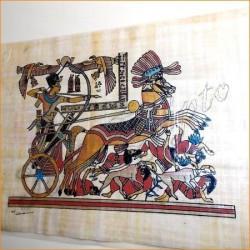 Papiros egipcios 30cmX25cm M28