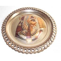 Plato egipcio Cobre Grabado