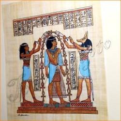 Papiro egipcio 40cmX35cm M1
