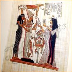 Papiro egipcio 40cmX35cm M3