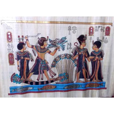 Papiro egipcio grande